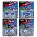 T-807: Metal Die-Cast Toys Police Series ( Random design ) -- New WH