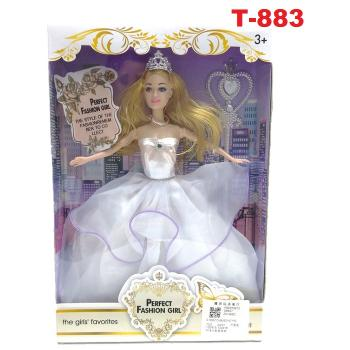 T-883: Perfect Princess Cartoon Doll Set -- RT40