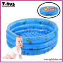 T-893: Inflatable Round Kids Pool (100cm X 31cm )