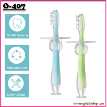 O-407: Baby Silicone Toothbrush