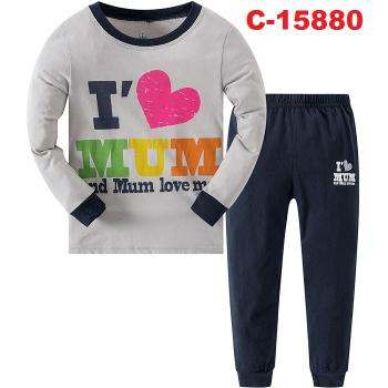 C-15880: Kids Pyjamas / Nighwear (Long Sleeve+Pant) --  C36-3