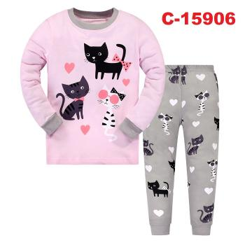 C-15906: Kids Pyjmas / Nighwear (Long Sleeve+Pant)--  C-30