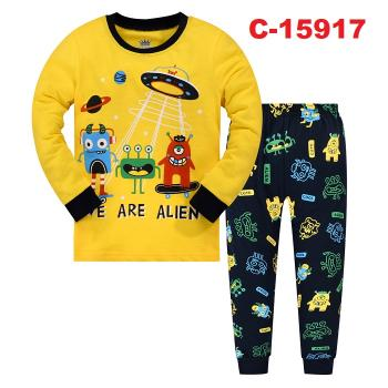 C-15917: Kids Pyjmas / Nighwear (Long Sleeve+Pant)-- C-31