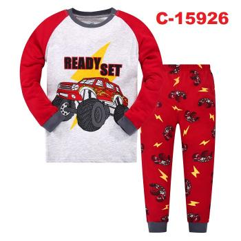 C-15926: Kids Pyjmas / Nighwear (Long Sleeve+Pant)-- C-46