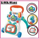 E-WK-W167: Multi-functional Baby Walker - No Water Bottle(W/M'Sia Postage RM 10/unit, E/M'Sia  postage RM50/unit)