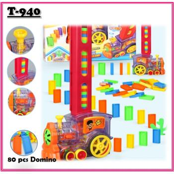 T-940: Domino Train set ( 80pcs )