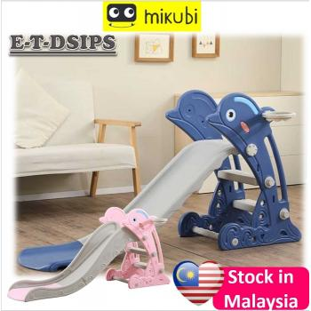 E-SL-DOLPHIN: Dolphin Slide indoor playground (west malaysia postage RM20/unit, E' MSia postage RM150/unit)