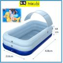 T-954 R&C: Automatic Inflatable Kids Pool (428CM X W210CM  X H68CM ) (4.28m)