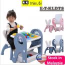 E-DB-TABLE: 2 in 1 Kids Lego Blocks and Drawing Board Table Set  (W'Msia postage RM10/unit, East M'sia postage RM100)